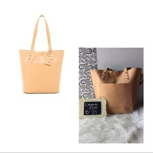 Emma Fox Vertical Leather Tote